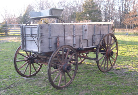 Childs Covered Wagon Bed